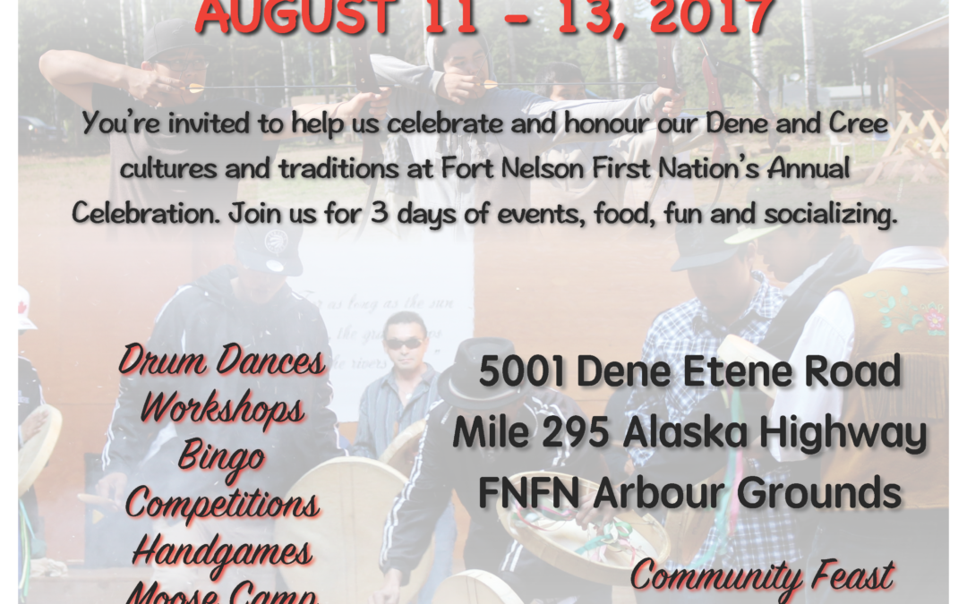 Fort Nelson First Nation – Annual Celebrations